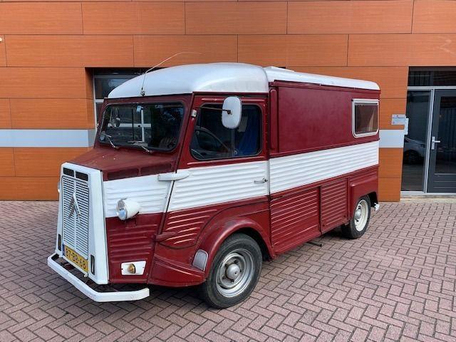 Citroën - HY kampeerwagen -