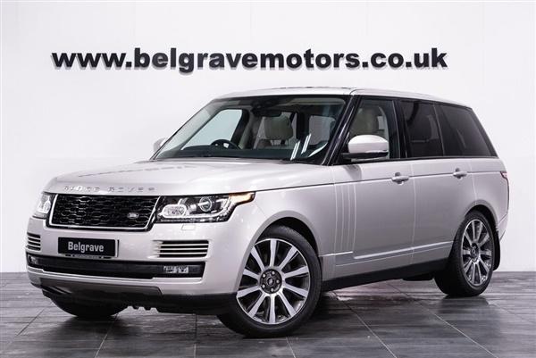 Land Rover Range Rover SDV8 VOGUE 21 ALLOYS  FACELIFT