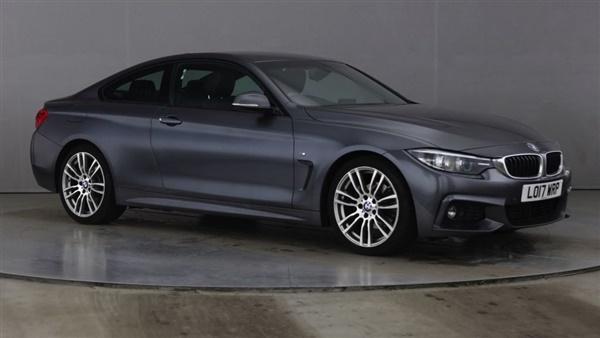 BMW 4 Series D M SPORT 2d 188 BHP | NO ULEZ CHARGES