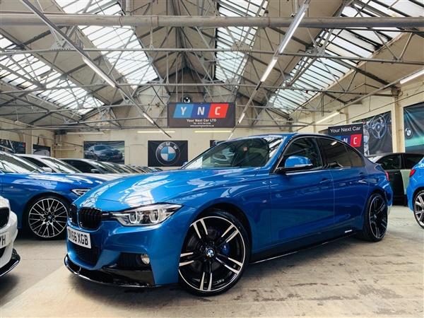 BMW 3 Series d BluePerformance M Sport Auto (s/s) 4dr