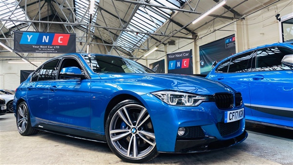 BMW 3 Series d BluePerformance M Sport (s/s) 4dr