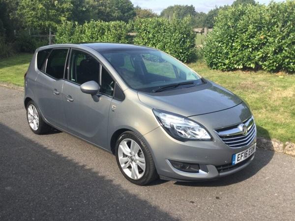 Vauxhall Meriva SE AUTOMATIC FULL MAIN DEALER HISTORY
