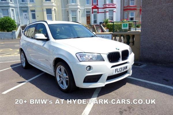 BMW X3 xDrive20d M Sport 5dr Step Auto