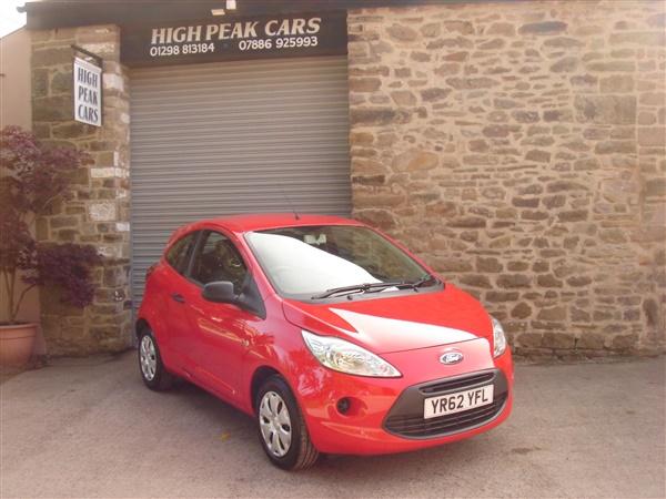 Ford KA 1.2 STUDIO STOP/START.  MILES. £30 ROAD TAX.
