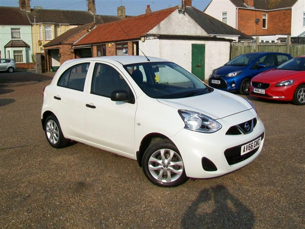 Nissan Micra 1.2 Vibe 5dr, Only 22k fnsh, £30 tax, Aircon,