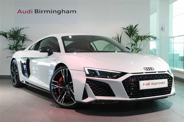 Audi R8 5.2 FSI V10 Quattro Perform Carbon Bk 2dr S Tronic