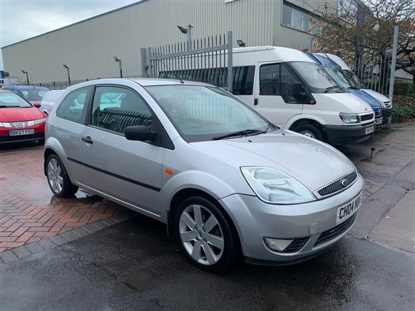 Ford Fiesta 1.4 Silver 3dr FULL LEATHER INTERIOR TIDY CAR