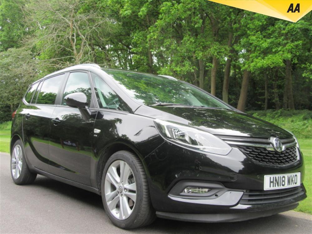 Vauxhall Zafira 1.4I TURBO SRI NAV TOURER AUTO 5DR FULL
