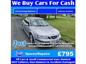Saab  Vector Sport Auto 07 Reg Spares/Repairs