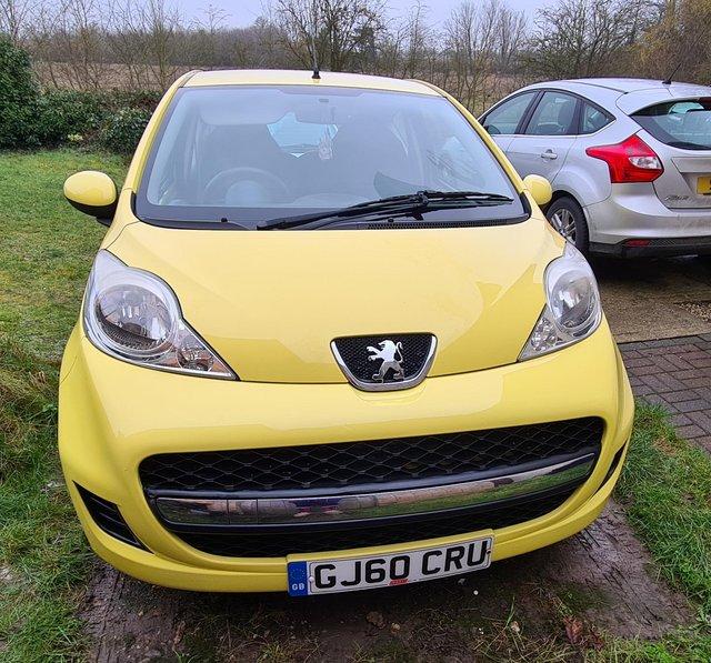 Yellow Peugeot k miles ??